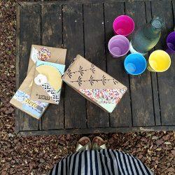 אריזות מתנה - אריזות מתנה צבעוניות