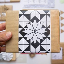 אריזות מתנה - אריזת מתנה גיאומטרית