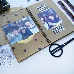 עיצוב אלבום תמונות - אלבום תמונות דאבל