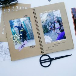 עיצוב אלבום תמונות - אלבום תמונות נפתח